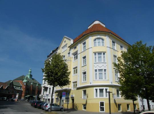 Otel fotoğrafları: Hotel Stadt Lübeck