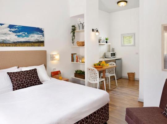 Otel fotoğrafları: Kibbutz Malkiya Travel Hotel