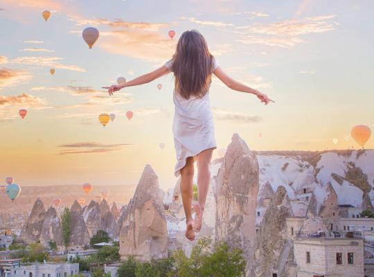 Hotel fotografií: Cappadocia Cave Suites
