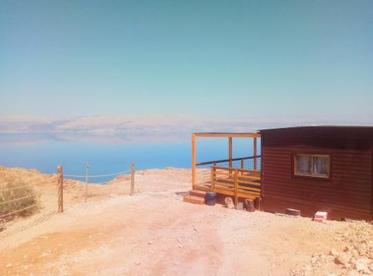 Otel fotoğrafları: The Cliff Cabin at Metzoke Dragot