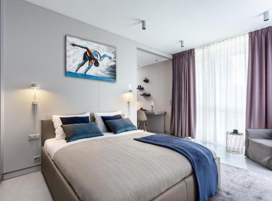 Fotos do Hotel: VISIONAPARTMENTS St. Sulpice Route de Vallaire