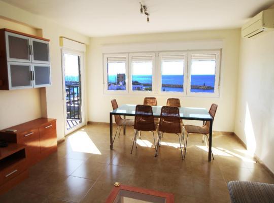 Ảnh khách sạn: Apartamento en primera linea de playa