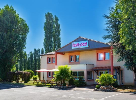 酒店照片: Fasthôtel Périgueux