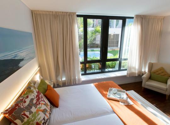 Хотел снимки: Hotel Escuela Santa Cruz
