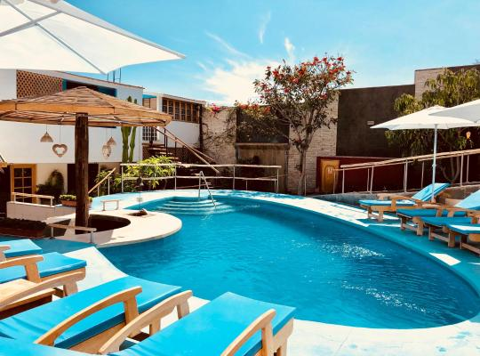 Хотел снимки: Hotel Villa Jazmin