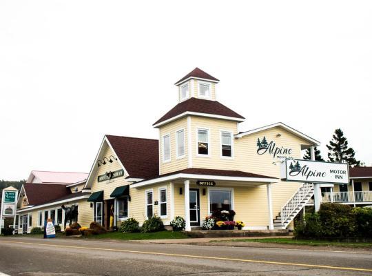 ホテルの写真: Alpine Motor Inn