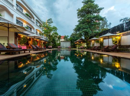 Hotellet fotos: Lin Ratanak Angkor Hotel