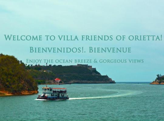 Хотел снимки: Villa Friends of Orietta. Ocean view bungalows