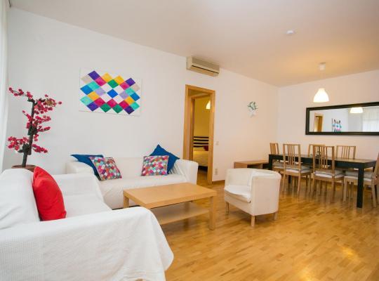 Хотел снимки: Sagrada Familia apartment with private terrace