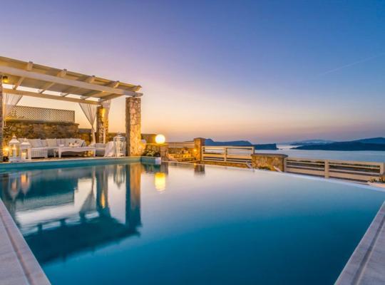 ホテルの写真: Akrotiri Villa Sleeps 10 Pool Air Con WiFi