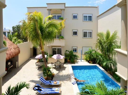 होटल तस्वीरें: Palms Tulum Condo