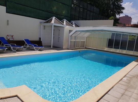 ホテルの写真: apartment with one bedroom in guimarães, with wonderful mountain view, pool a...