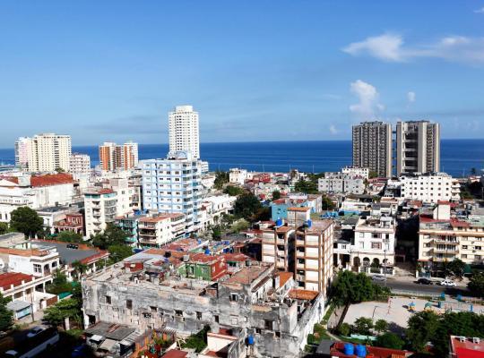 Foto dell'hotel: Ocean View 2 beds apartment in Vedado.