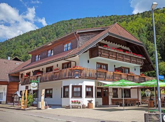 ホテルの写真: Pension Gasthaus Zur Schmiede
