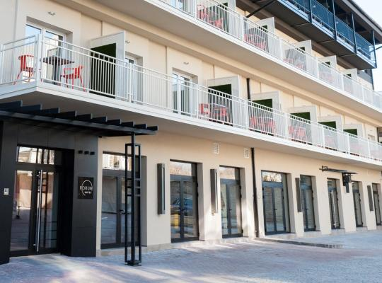 Хотел снимки: Hotel Forum Garni