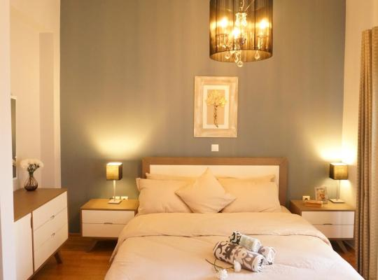 Hotel fotografií: Stylish and cozy apart ment near the centre of Athens DMCS30601