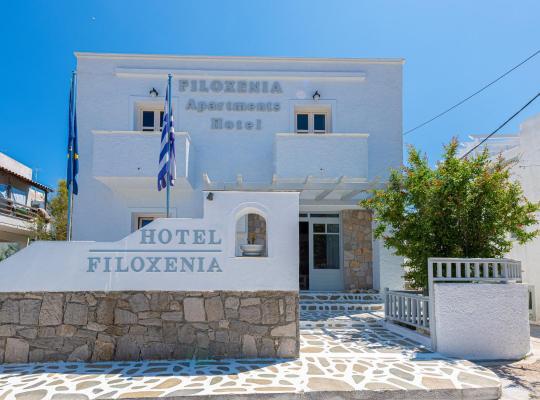 รูปภาพจากโรงแรม: Filoxenia Apartments