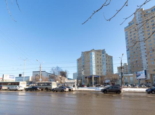 Hotellet fotos: Апартаменты в новом доме трк Столица