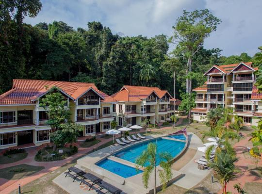 Хотел снимки: Anjungan Beach Resort