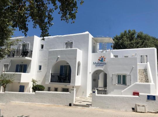 Hotellet fotos: Malamas Apartments