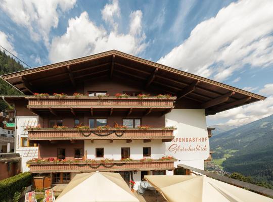 ホテルの写真: Hotel Gletscherblick