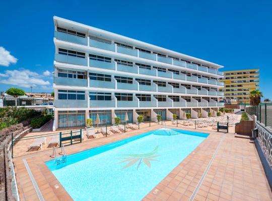 Хотел снимки: Apartamentos Strelitzias