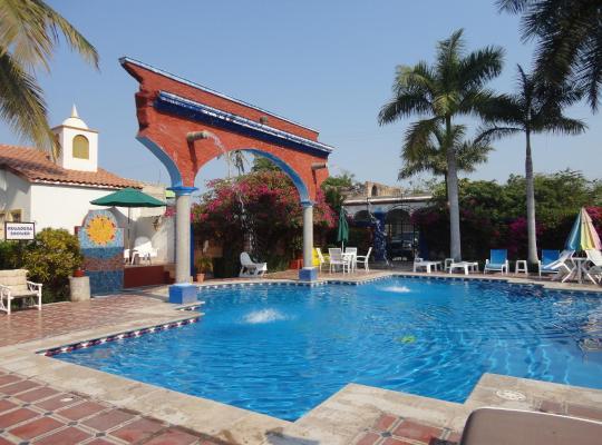 Хотел снимки: Hotel Hacienda Flamingos