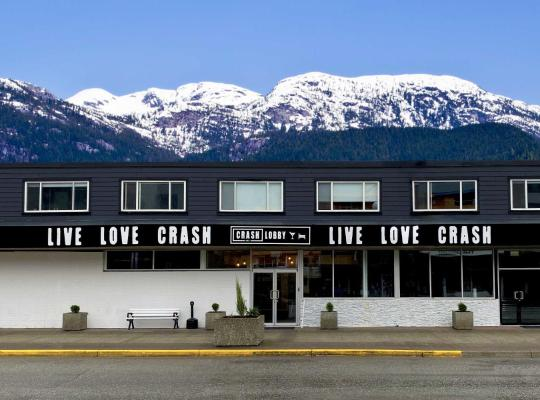 Fotografii: Crash Hotel Squamish