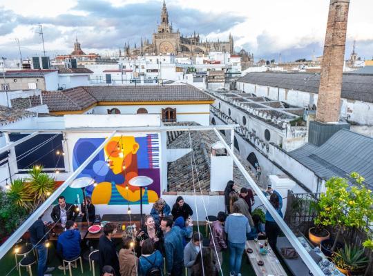 Hotel bilder: La Banda Rooftop Hostel