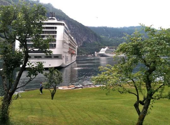 Hotel fotografií: Fjorden Campinghytter