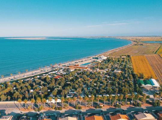Hotel foto: Camping Ampolla Playa
