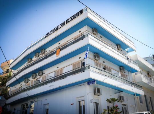 Фотографии гостиницы: Hotel Karpathos