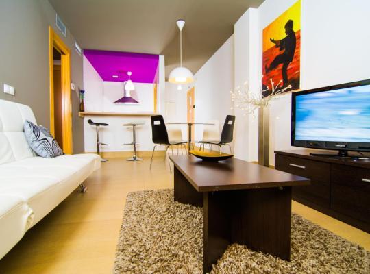 Hotel foto: Apartamentos 16:9 Suites Almería