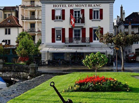 Foto dell'hotel: Romantik Hotel Mont Blanc au Lac