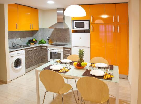 Otel fotoğrafları: Apartamentos Campuebla