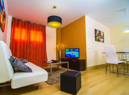 Hotel foto: Apartamentos 16:9 Playa Suites