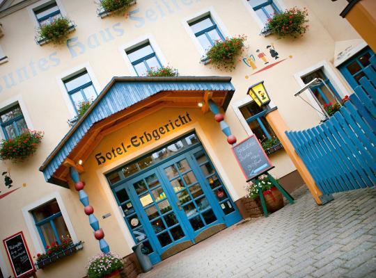 Viesnīcas bildes: Hotel Erbgericht Buntes Haus