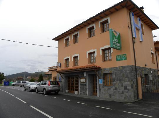 Хотел снимки: Hotel Restaurante Casa Fernando