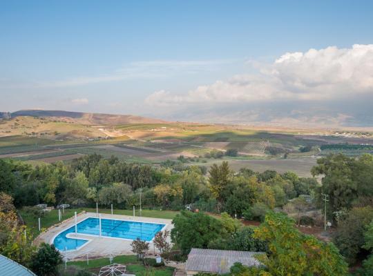 호텔 사진: Kfar Giladi Kibbutz Hotel