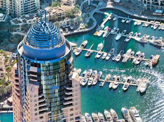 Fotos do Hotel: Dubai Marriott Harbour Hotel And Suites