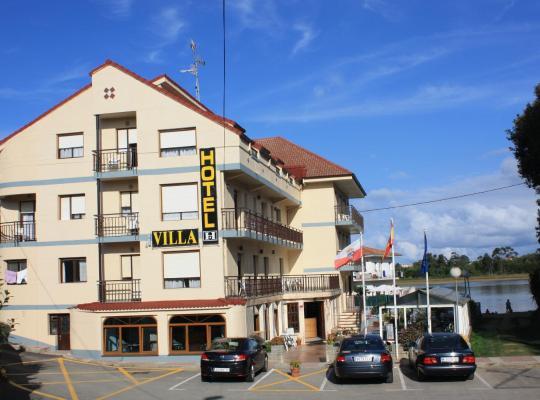Хотел снимки: Hotel Villa