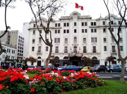 Хотел снимки: Gran Hotel Bolivar Lima