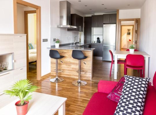 Хотел снимки: Sagrada Familia apartment