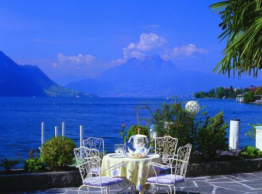 ホテルの写真: Romantik Hotel Beau Rivage Weggis - Beau Rivage Collection