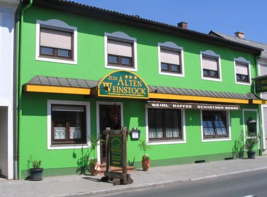 Fotos do Hotel: Landgasthof Zum Alten Weinstock