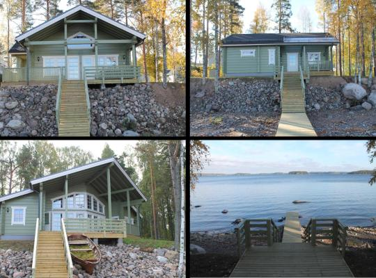 ホテルの写真: Saimaa Resort Sauna Villas