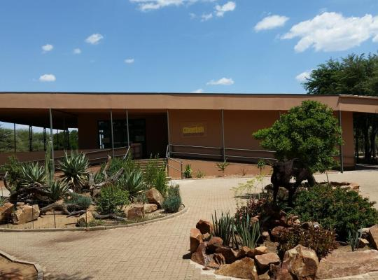 Fotografii: Babson House at Cheetah Conservation Fund