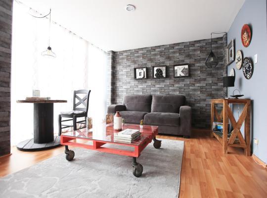 תמונות מלון: Comfortable flat near American Embassy and Reforma Homm