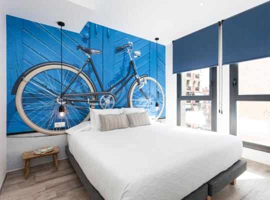 酒店照片: The Bicycle Apartments