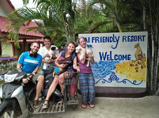 Хотел снимки: Pai Friendly Resort